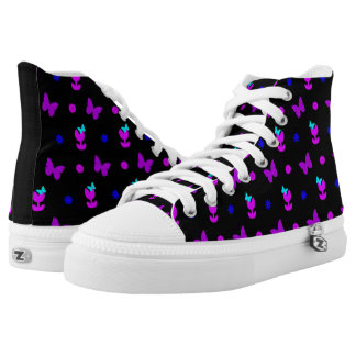 It's Spring in Bright Colours Hi Tops