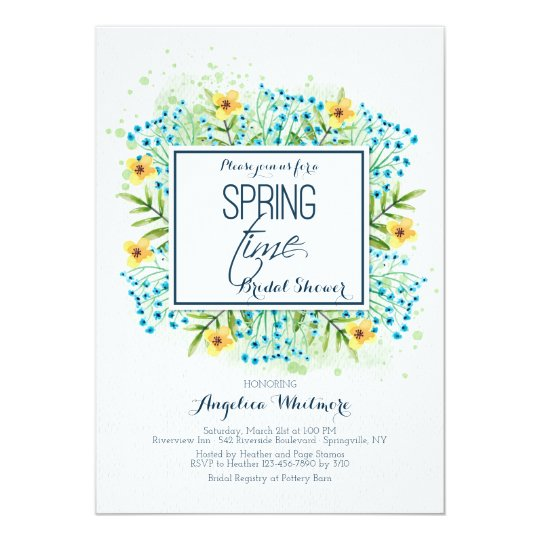 It's Spring Time Invitation