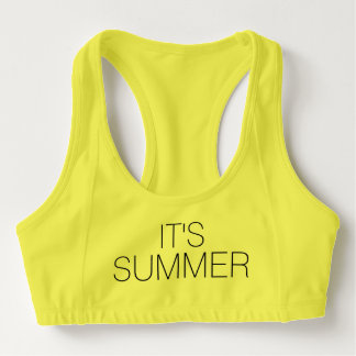 IT'S SUMMER !!!! SPORTS BRA