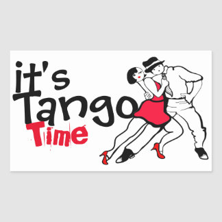 It's Tango Time Sticker