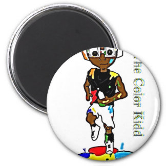 It's The ColorKidd! 2 Inch Round Magnet