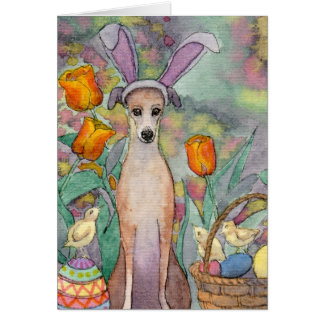 It's the Easter slim dog! Easter Card