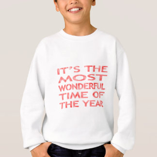 It's the most wonderful time of the year - red sweatshirt