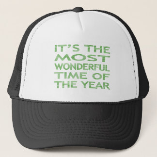 It's the most wonderful time of the year - strips trucker hat