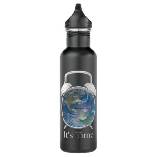 It's Time! 710 Ml Water Bottle