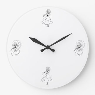 It's time for a song clock! large clock