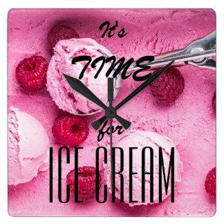 It's time for icecream clocks