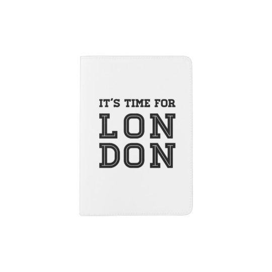 It's Time For London Passport Holder