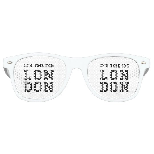 It's Time For London Retro Sunglasses