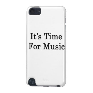 It's Time For Music iPod Touch 5G Cases