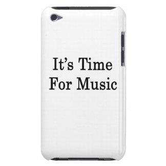 It's Time For Music Barely There iPod Cover