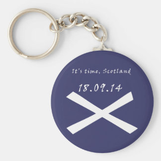 It's Time for Scottish Independence Keyring