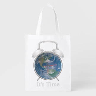It's Time! Reusable Grocery Bag