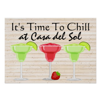 It's Time to CHILL Poster