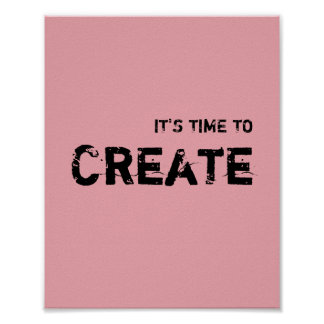 It's time to CREATE. Poster