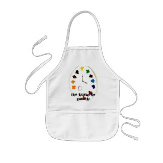 """It's Time to Paint!"" Children's Painting Apron"