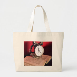 It's Time to read a Book Large Tote Bag
