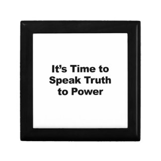 It's Time to Speak Truth To Power Gift Box