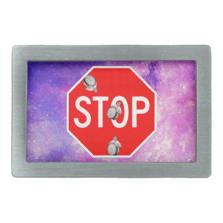 its time to stop filthy frank stop sign galaxy rectangular belt buckles