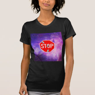 its time to stop filthy frank stop sign galaxy T-Shirt