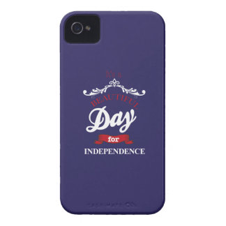 It's to beautiful day for Independence iPhone 4 Covers