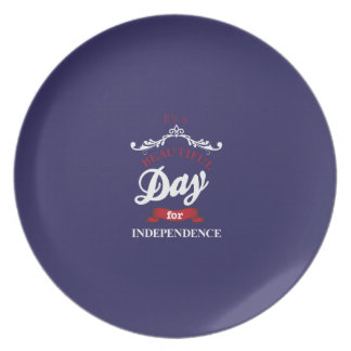 It's to beautiful day for Independence Plate