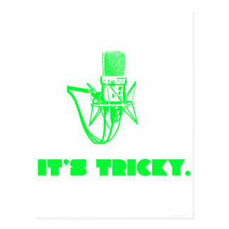 It's Tricky Postcard