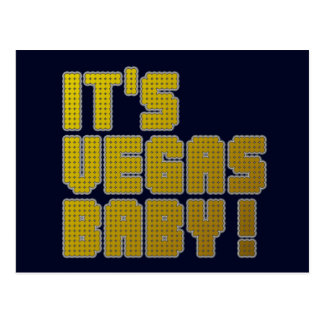 It's Vegas Baby! Postcard