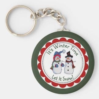 It's Winter Time, Let It Show Key Chain