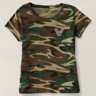 Its WNHG Womens Camo Tshirt