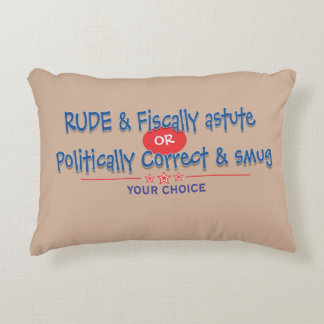 its your choice accent pillow