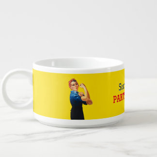 It's Your Custom Rosie Party Personalize This Bowl
