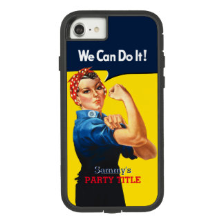 It's Your Custom Rosie Party Personalize This Case-Mate Tough Extreme iPhone 8/7 Case