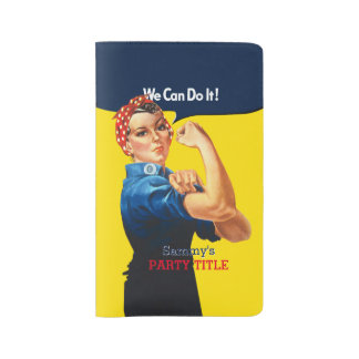 It's Your Custom Rosie Party Personalize This Large Moleskine Notebook