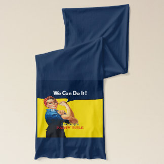 It's Your Custom Rosie Party Personalize This Scarf
