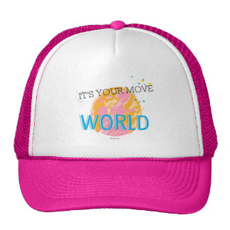 It's Your Move World Trucker Hat