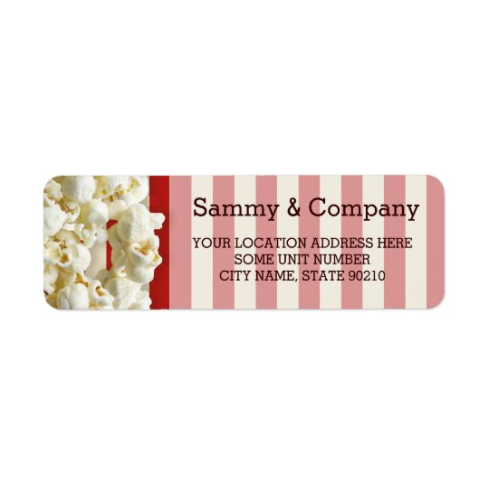 It's Your Party Personalized Popcorn Style