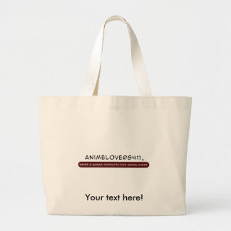It's your store now! jumbo tote bag