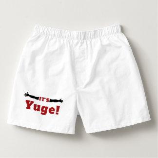 It's Yuge Yooge Boxers