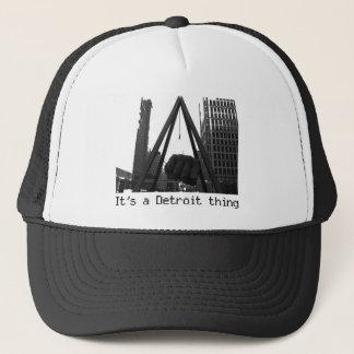 it'ss a detroit thing Trucker cap