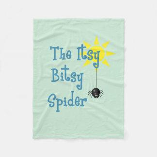 Itsy Bitsy Spider Fleece Blanket