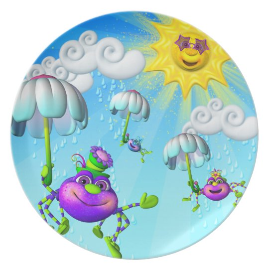Itsy Bitsy Spider Fun Plate