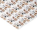 Itty Bitty Bunny Rabbits Tissue Paper