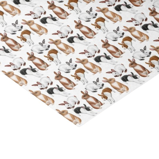 Itty Bitty Bunny Rabbits Tissue Paper