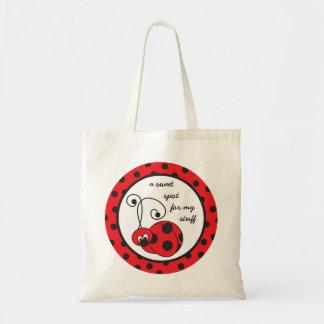 Itty Bitty Ladybug Tote Bag