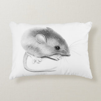 Itty Bitty Mouse Decorative Pillow