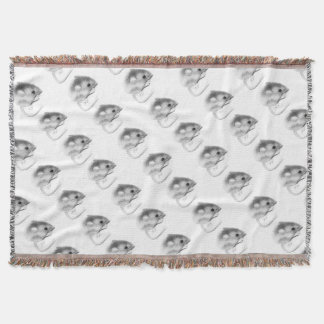 Itty Bitty Mouse Throw Blanket