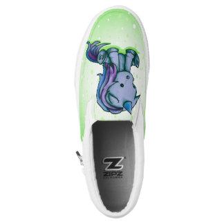 itty bitty unicorn Slip-On sneakers