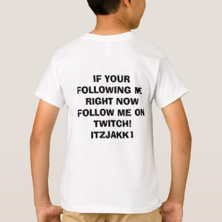 ITZJAKK1 twitch merchandise T-Shirt