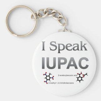 IUPAC International Union Pure & Applied Chemistry Keychain